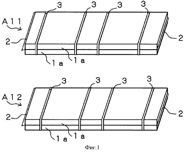 Конструкция для штабелирования пластин из керамического строительного материала