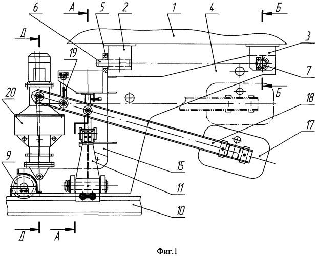 Автоматическое противоугонное устройство для крана