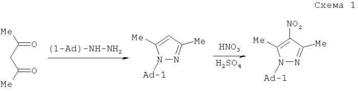 1-(1-адамантил)-4-нитрозопиразолы