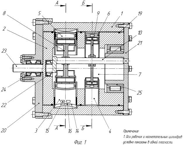 Роторно-поршневой двигатель