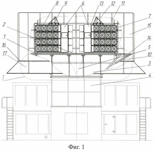 Комплексное воздухоочистительное устройство накопительного типа для газотурбинных установок и его варианты