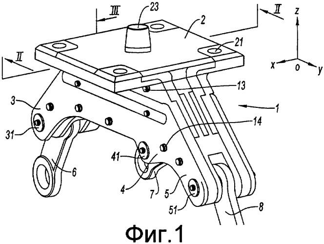 Устройство подвески газотурбинного двигателя и газотурбинный двигатель, содержащий такое устройство подвески