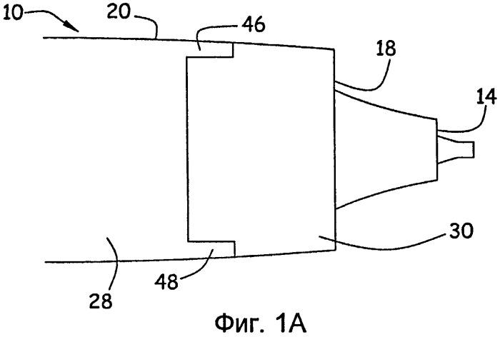 Гондола летательного аппарата, содержащая устройство реверсирования тяги