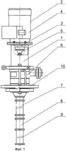 Конструктивный ряд вертикальных нефтяных электронасосных агрегатов