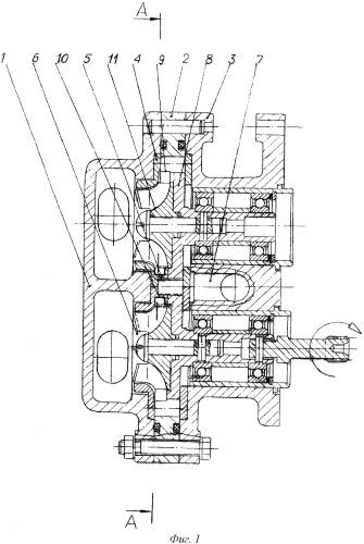 Комбинированный центробежно-шестеренный насос