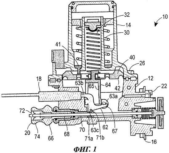 Быстродействующее предохранительное устройство, способ сборки этого устройства и клапан
