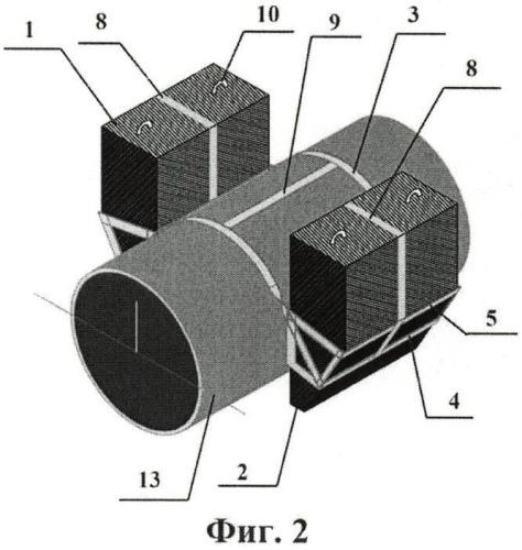 Мягкий силовой пояс для крепления балластных грузов
