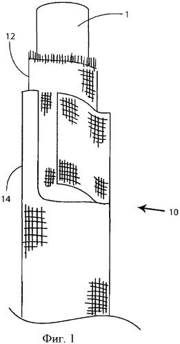 Плетеное покрытие шланга
