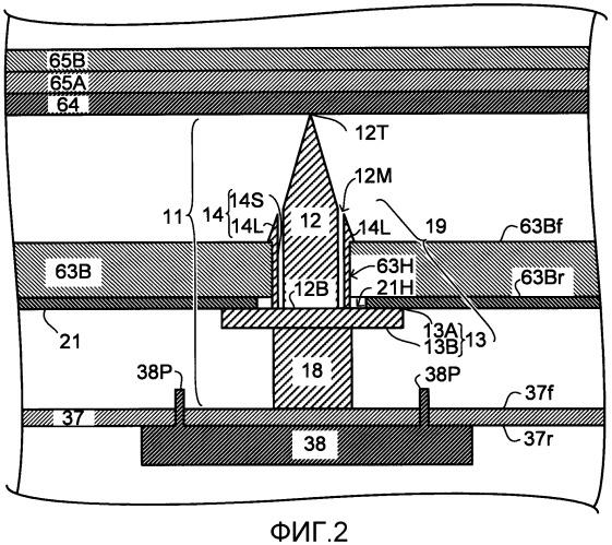 Поддерживающий блок, блок подсветки, устройство отображения и телевизионный приемник