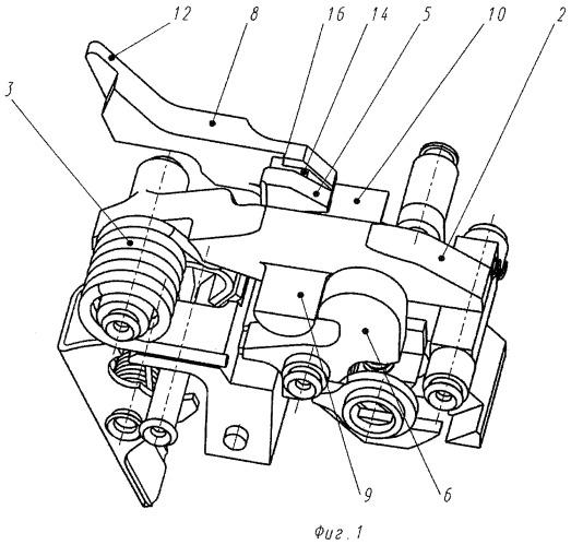 Ударно-спусковой механизм автоматического стрелкового оружия