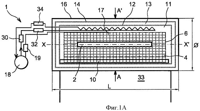 Двухфазный переходный ядерный калориметр, внешний по отношению к реактору