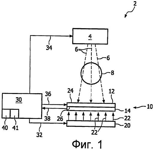 Уменьшение эффектов захвата в сцинтилляторе за счет применения вторичного излучения