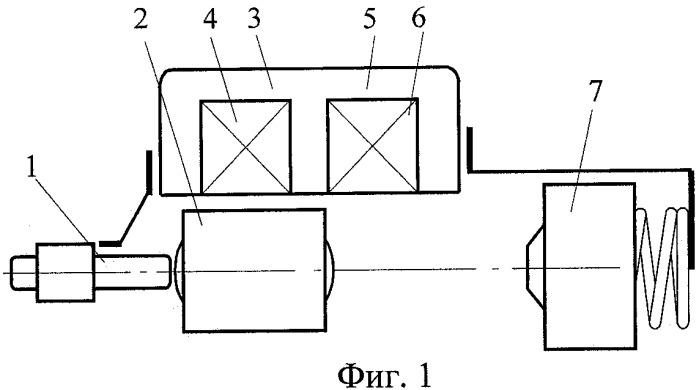 Способ управления двухкатушечным электромагнитным двигателем ударного действия