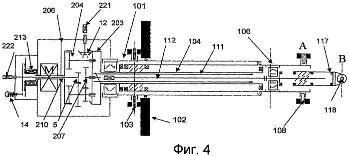 Телескопический линейный исполнительный механизм двойного действия с приводом от одного двигателя