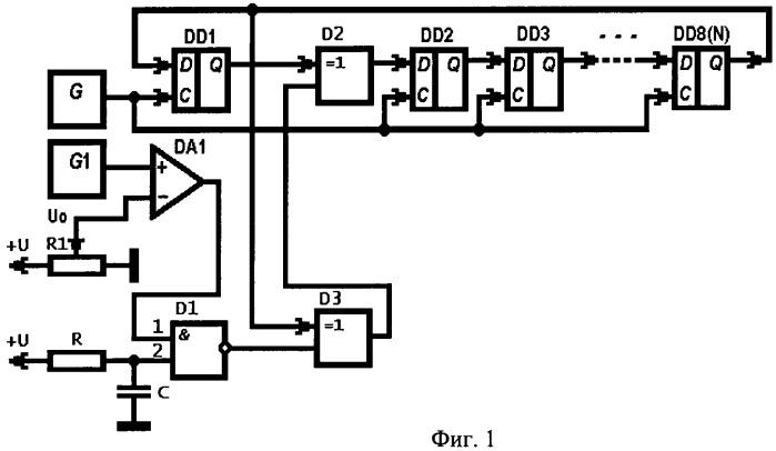 Цифровой генератор хаотического сигнала