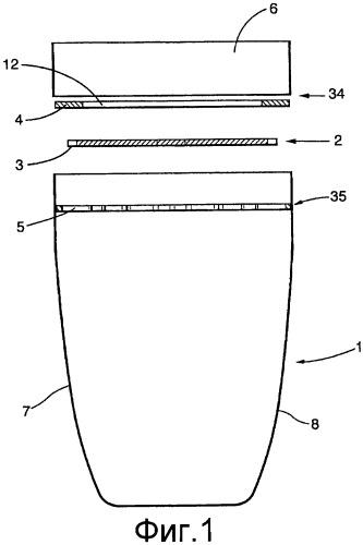 Закрывающее устройство для емкости с жидкостью