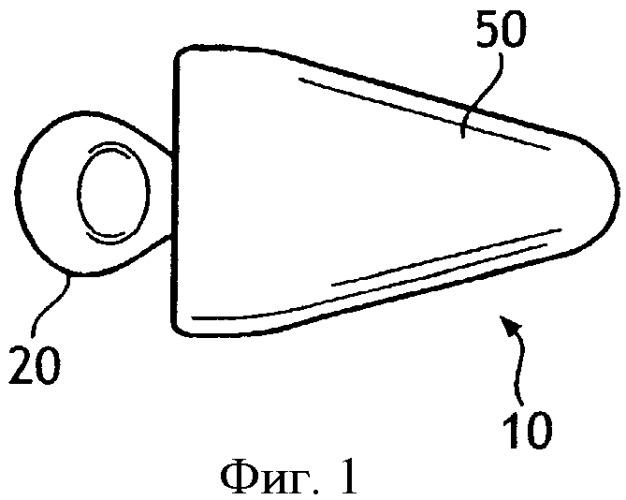 Принимающая анатомическую форму ушная заглушка для ослабления звука