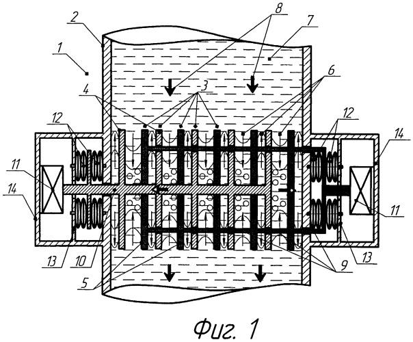 Устройство для активации физико-химических реакций в процессе делигнификации древесной щепы в варочном котле