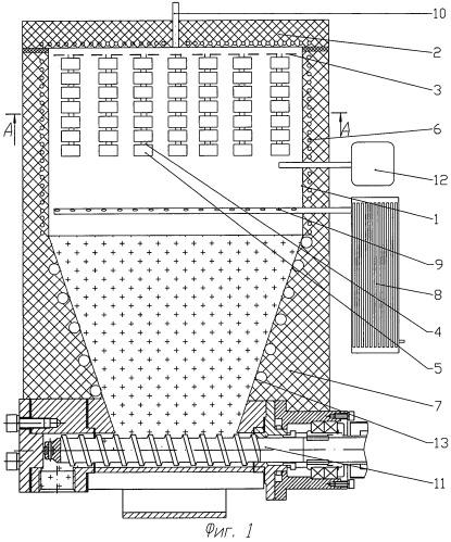 Реактор для получения углеродных наноматериалов