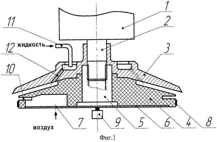 Центробежный электроаэрозольный генератор