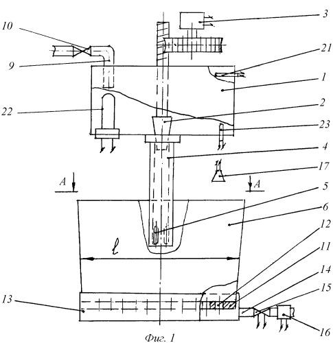 Способ моделирования гидродинамики расплава в кристаллизаторе