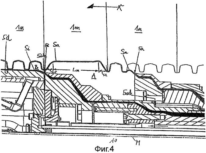 Способ для производства термопластичной гофрированной трубы с двойными стенками, имеющей соединительную муфту