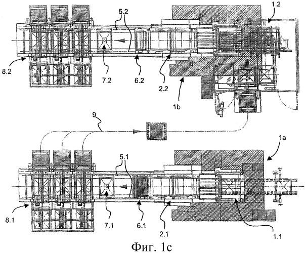 Системы печатных машин для двусторонней глубокой печати листов для изготовления банкнот и подобных ценных бумаг