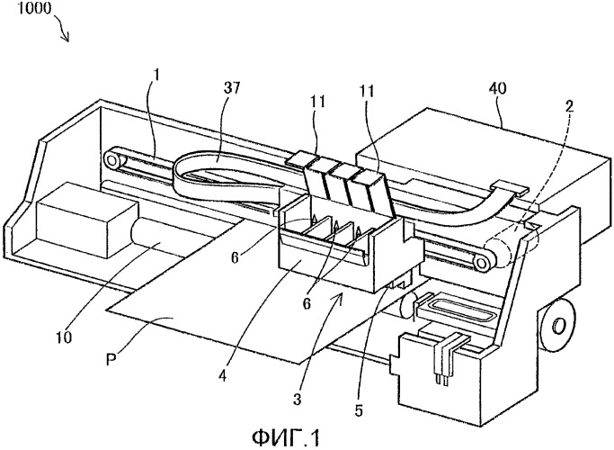 Контейнер с материалом для печатания и плата, устанавливаемая на контейнере с материалом для печатания