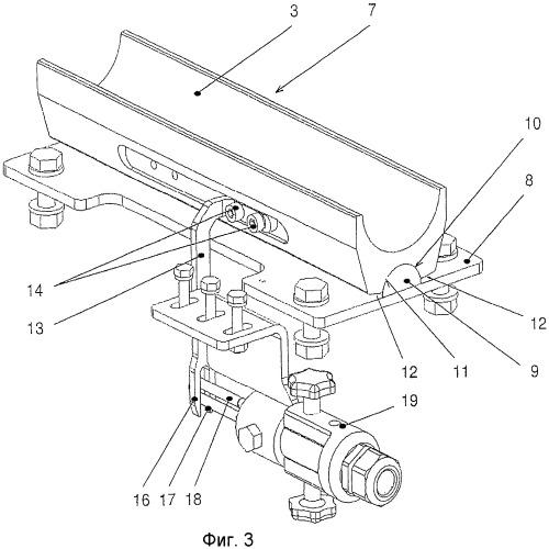 Устройство на подвесной канатной дороге или на грузовой подъемно-транспортной установке для определения ошибочного положения несущего каната на держателе с желобком, в котором расположен несущий канат, и с определителем ошибочного положения несущего каната