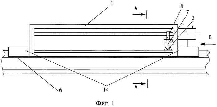 Устройство для измерения сил трения между колесом и рельсом
