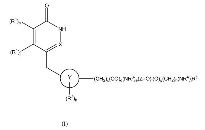 Производные пиридинона и пиридазинона в качестве ингибиторов поли(adp-рибоза) полимеразы (parp)