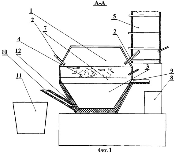 Способ переработки металлических радиоактивных отходов