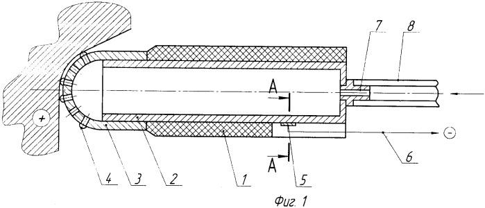Ручной инструмент-электрод для электрохимического полирования металлов