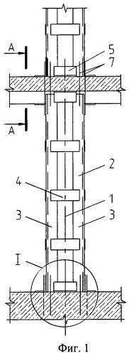 Способ усиления колонны