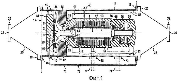 Устройство для отбора энергии из потока сжатого газа