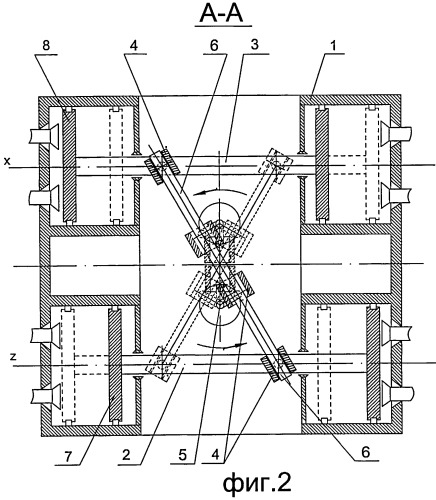 Поршневая машина с маятниковым рычагом
