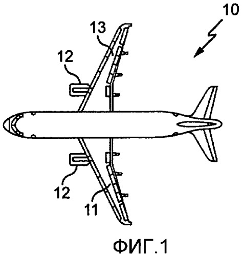 Гондола реактивного двигателя летательного аппарата