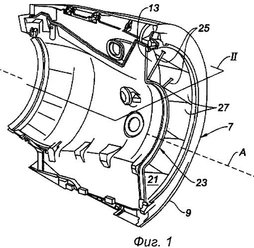 Реверсор тяги решетчатого типа и авиационная гондола, оборудованная таким реверсором тяги
