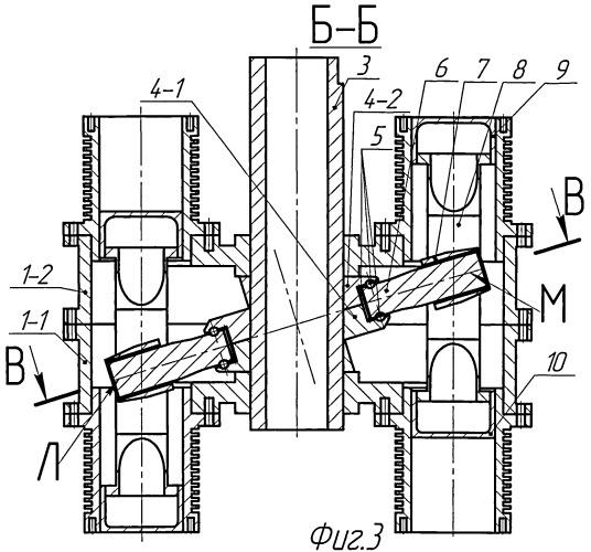 Аксиальный механизм поршневой машины