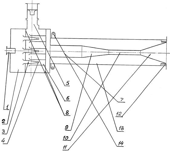 Жидкостно-газовый струйный аппарат