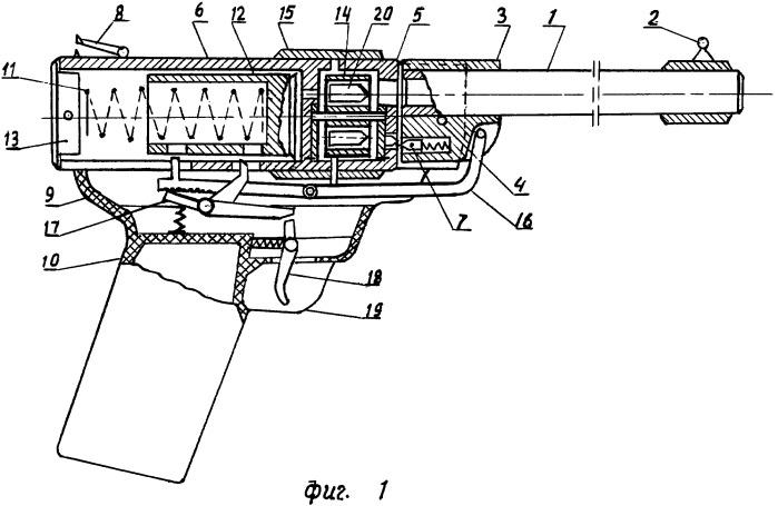Многозарядное пружинно-поршневое пневматическое стрелковое оружие (пистолет, винтовка)
