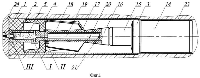 Унитарный боеприпас для гладкоствольного оружия