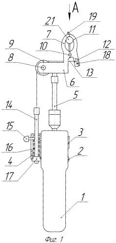 Прибор для измерения усилия отрыва ягод