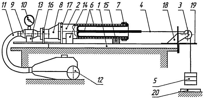 Стенд для исследования оборудования и процессов бестраншейного ремонта трубопроводов
