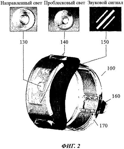Сигнальный браслет для использования в чрезвычайной ситуации