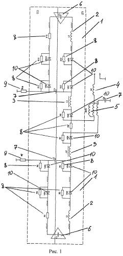 Широкополосный симметричный вибратор с комплексной нагрузкой