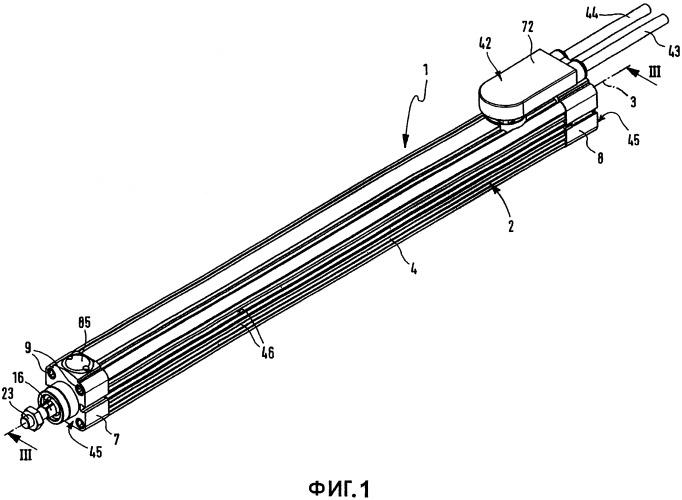 Электрическое линейное приводное устройство