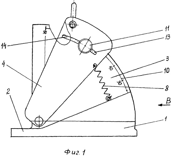 Устройство для измерения угла наклона копытцевого рога к подошвенной поверхности парнокопытных животных