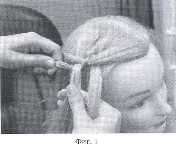 Способ укладки волос (варианты)
