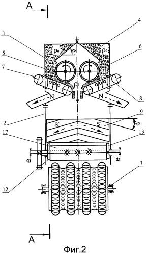 Способ формования техногенных материалов и пресс-валковый агрегат для его осуществления